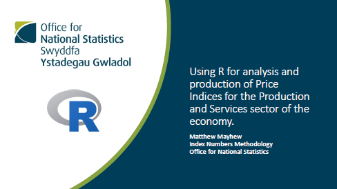 The R Project - The Use of R in Official Statistics